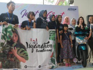 Meet & Greet di event Mio S Roadshow Concert featuring Isyana Sarasvati di Semarang (1)