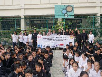 Serah Terima CSR Hino Alat Praktik LAB IPA Kepada SMP Yos Sudarso Purwakarta 3